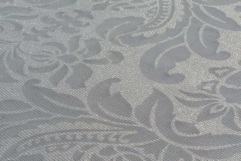 tessuto decorato al laser novara